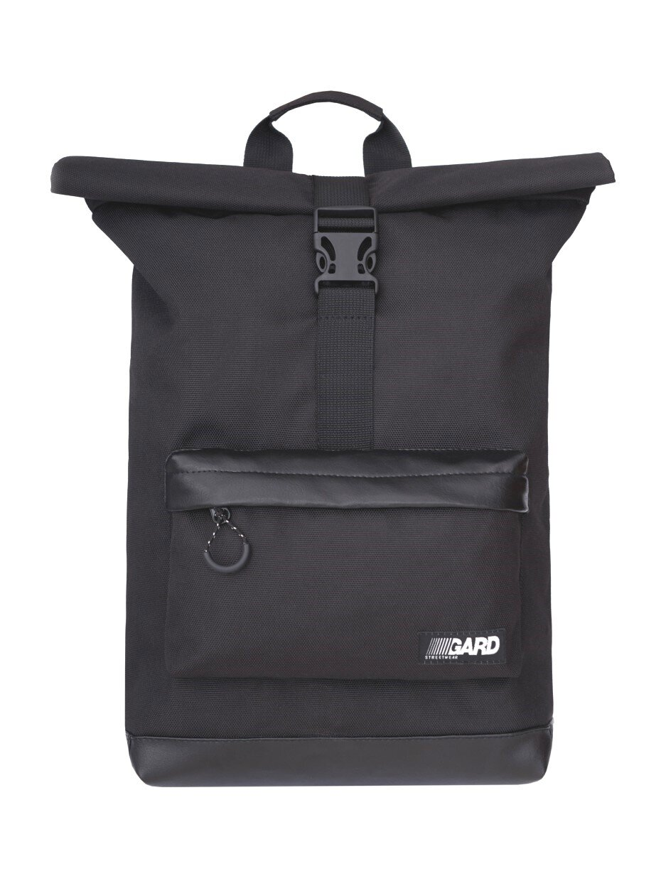 Рюкзак GARD ROLLTOP I BLACK-LEATHER 4/18 Черный (BPCT0000/GRD19)