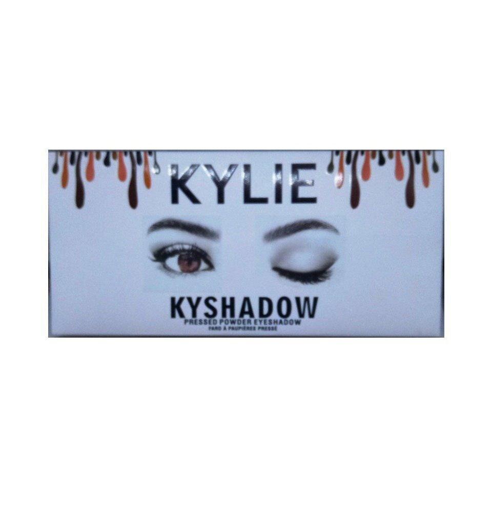 Палитра теней Kylie kyshadow The burgundy palette
