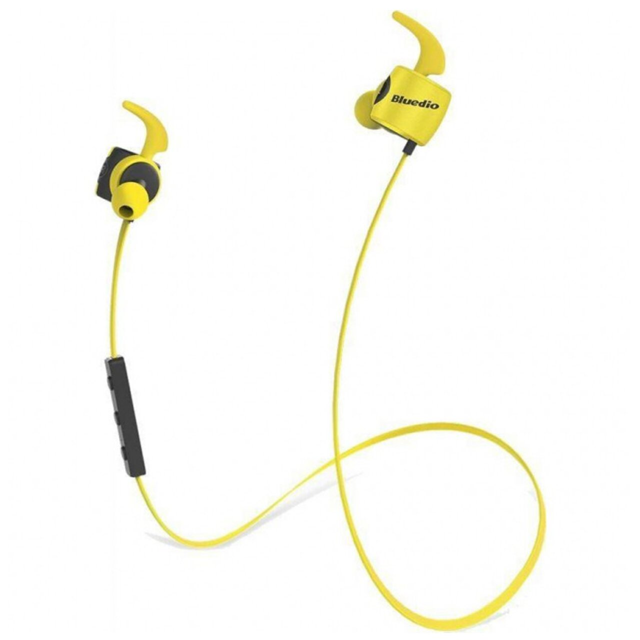 Беспроводная Bluetooth гарнитура Bluedio TE Sport Yellow (3038-9572)