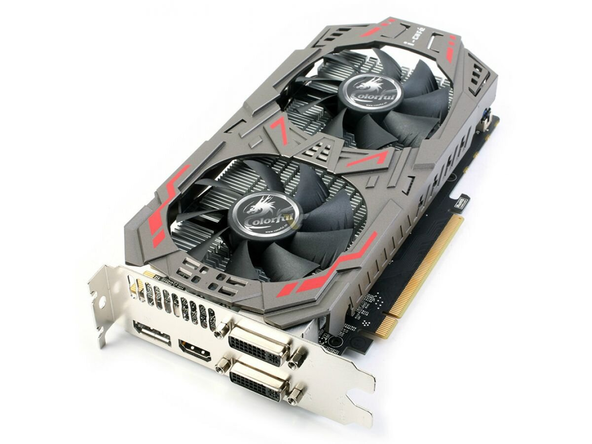 Видеокарта Colorful GeForce GTX 960 4GB GDDR5 128bit (GTX960-4GD5-V4)