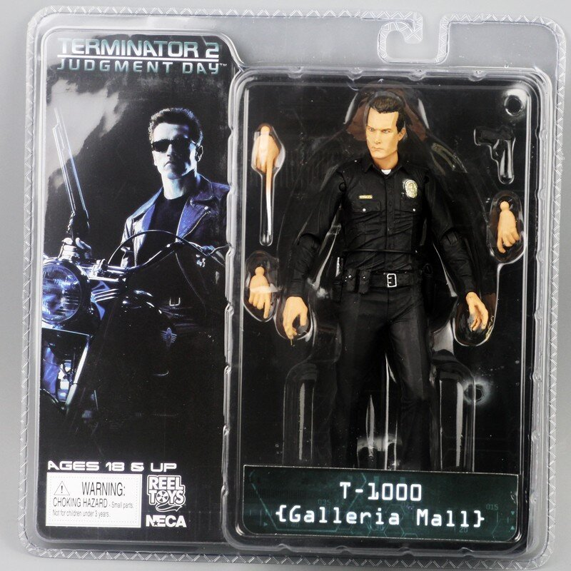 Фигурка NECA Терминатор T-1000 Terminator 2 Judgment Day Galleria Mall Neca (1006237689)