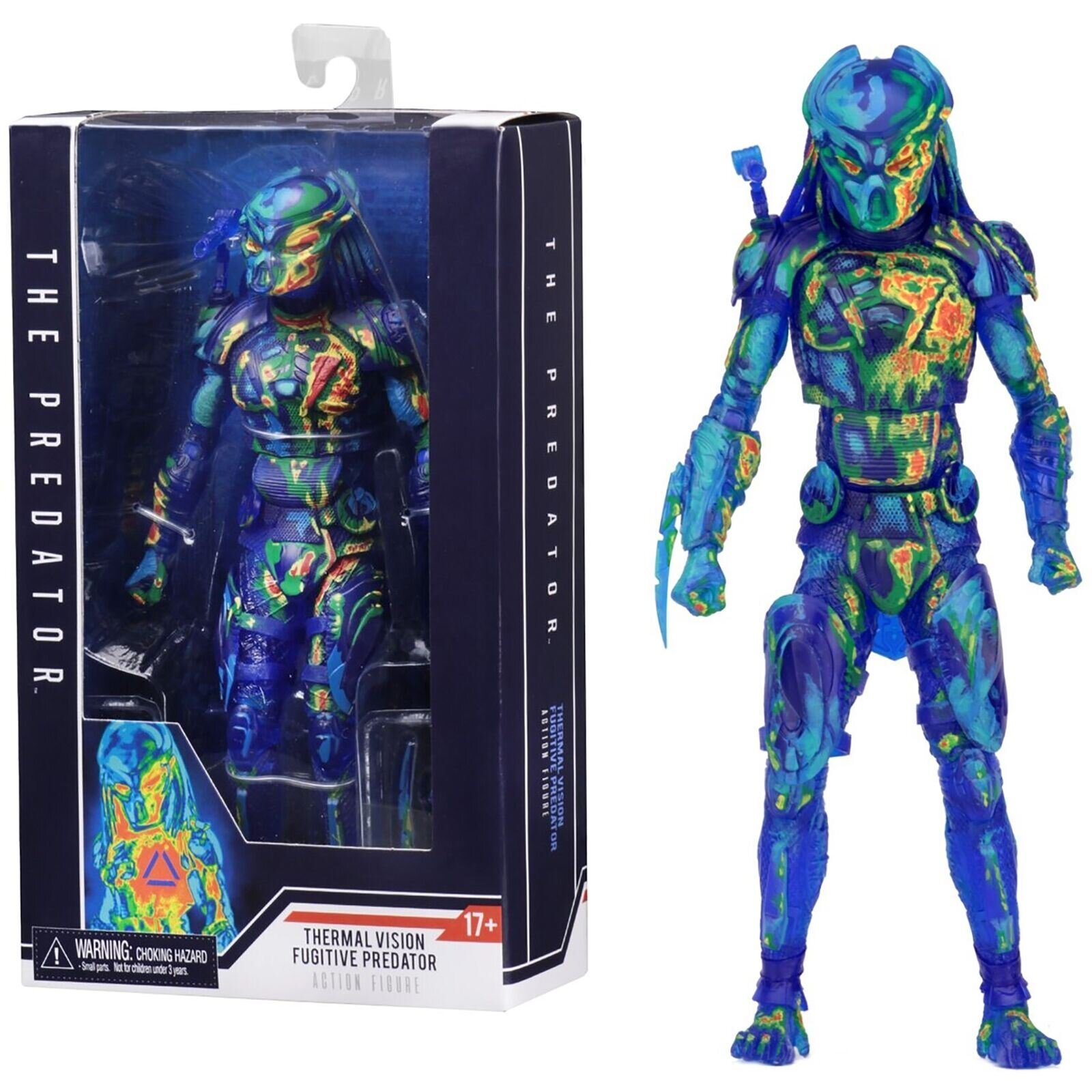 Фигурка NECA Хищник (Thermal Vision Fugitive Predator)