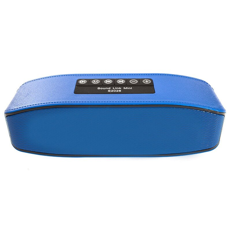 Портативная Bluetooth колонка Noisy S2026 MP3 Blue (1103)